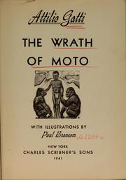 Cover of: ...The wrath of Moto | Attilio Gatti