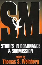 Cover of: S&M | Thomas S. Weinberg