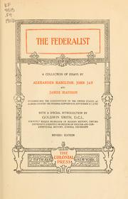Cover of: The Federalist