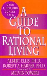 Cover of: A guide to rational living