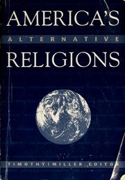 Cover of: America's alternative religions | Miller, Timothy