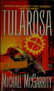 Cover of: Tularosa | Michael McGarrity