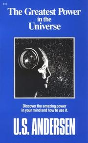 Cover of: The greatest power in the universe