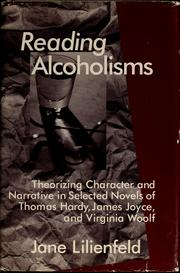 Cover of: Reading alcoholisms | Jane Lilienfeld