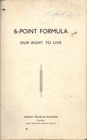 Cover of: 6-Point Formula (our-right to live)