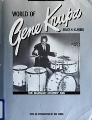 World of Gene Krupa by Bruce H. Klauber