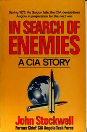 In search of enemies by Stockwell, John