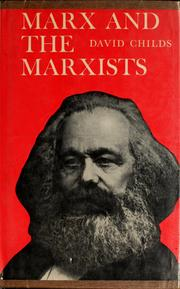 Cover of: Marx and the Marxists | David Childs
