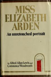 Cover of: Miss Elizabeth Arden