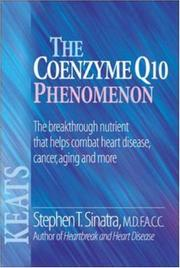 Cover of: The coenzyme Q10 phenomenon