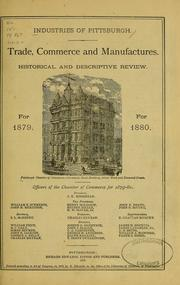 Cover of: Industries of Pittsburgh by Chamber of Commerce of Pittsburgh