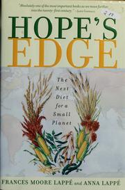 Cover of: Hope's Edge: the next diet for a small planet