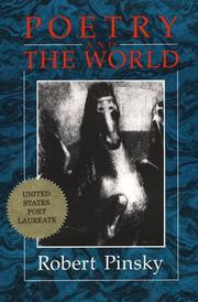 Cover of: Poetry and the world