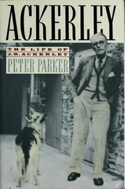 Cover of: Ackerley | Parker, Peter
