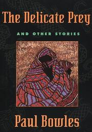 Cover of: The delicate prey, and other stories