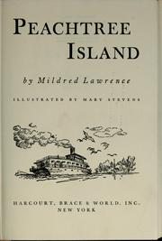 Cover of: Peachtree Island by Mildred Lawrence