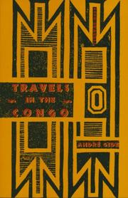 Cover of: Voyage au Congo