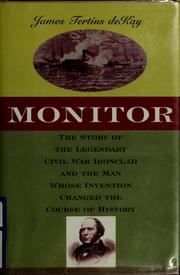 Cover of: Monitor | James T. De Kay
