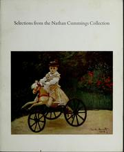 Cover of: Selections from the Nathan Cummings Collection. | National Gallery of Art (U.S.)