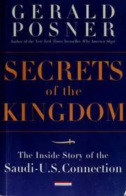 Cover of: Secrets of the kingdom | Gerald L Posner
