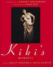 Cover of: Kiki's memoirs