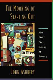 Cover of: The Mooring Of Starting Out