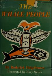 The whale people by Roderick Langmere Haig-Brown