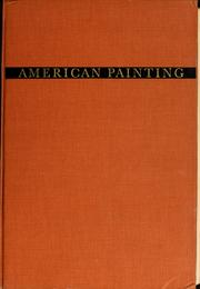 Cover of: American painting, history and interpretation | Virgil Barker
