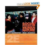 Cover of: Social psychology and human nature