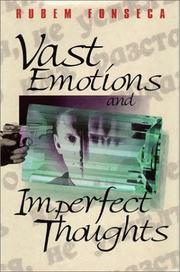 Cover of: Vast Emotions and Imperfect Thoughts