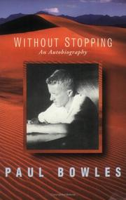 Cover of: Without Stopping