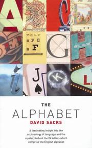 Cover of: The Alphabet