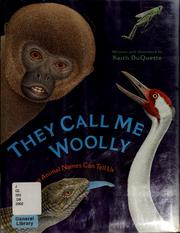 Cover of: They call me Woolly | Keith Du Quette