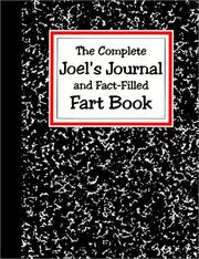 Cover of: Joel's Journal and Fact-Filled Fart Book