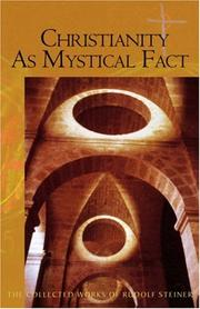 Cover of: Christianity as mystical fact: and the mysteries of antiquity
