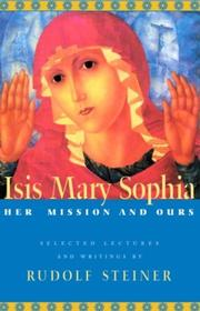 Cover of: Isis Mary Sophia | Rudolf Steiner