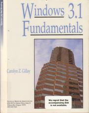 Cover of: Windows 3.1 fundamentals