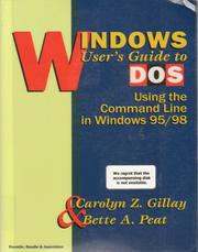 Cover of: Windows User's Guide to DOS