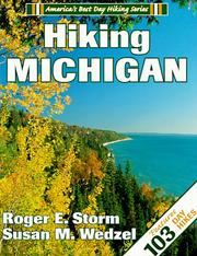 Cover of: Hiking Michigan