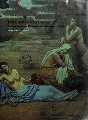 Cover of: Dream States | Jennifer L. Shaw