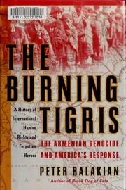 The Burning Tigris by Peter Balakian