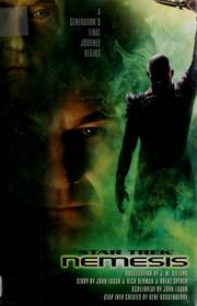 Star trek nemesis by J. M. Dillard