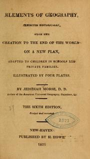 Cover of: Elements of geography | Jedidiah Morse