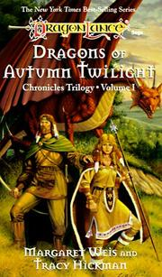 Cover of: Dragons of autumn twilight