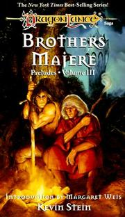 Cover of: Brothers Majere (Dragonlance Preludes, Vol. 3)