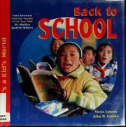 Back to School (It's a Kid's World)