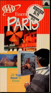 Cover of: Essential Paris | Elisabeth Morris