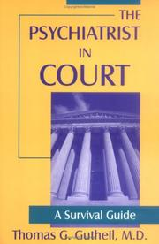 Cover of: The psychiatrist in court