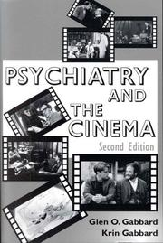 Cover of: Psychiatry and the cinema