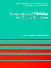 Cover of: Language and thinking for young children | Ruth Beechick